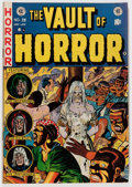 Golden Age (1938-1955):Horror, Vault of Horror #28 Don/Maggie Thompson Collection pedigree (EC,1953) Condition: FN....