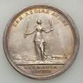 Betts Medals, 1763 Messenger of Peace, Treaty of Hubertusburg. Silver. VF.Betts-446....