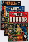 Golden Age (1938-1955):Horror, Vault of Horror #34-36 Don/Maggie Thompson Collection pedigreeGroup (EC, 1953-54) Condition: Average VG/FN.... (Total: 3 ComicBooks)