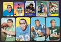 Football Cards:Sets, 1969 - 1986 Topps Football Insert Set Collection (7). ...