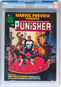 Magazines:Superhero, Marvel Preview #2 The Punisher (Marvel, 1975) CGC NM- 9.2 Off-whiteto white pages....
