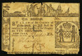 Colonial Notes:New York, New York February 16, 1771 10s Fine.. ...