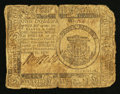 Colonial Notes:Continental Congress Issues, Continental Currency February 17, 1776 $1 Fine.. ...