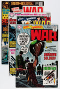 Silver Age (1956-1969):War, Star Spangled War Stories - Unknown Soldier Group (DC, 1970-78) Condition: Average FN+.... (Total: 50 Comic Books)