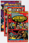 Bronze Age (1970-1979):Horror, Werewolf by Night Group (Marvel, 1972-76) Condition: Average VG....(Total: 48 Comic Books)