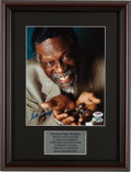 Basketball Collectibles:Photos, Bill Russell Signed Photograph....