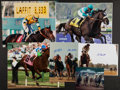 Miscellaneous Collectibles:General, Horse Racing Legends Signed Photographs Lot of 6....