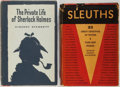 Books:Mystery & Detective Fiction, [Mysteries] Lot of Two Mystery Books. Including: Vincent Starrett.The Private Life of Sherlock Holmes. Univ... (Total: 2Items)