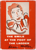 Books:Fiction, Henry Miller. INSCRIBED. The Smile at the Foot of theLadder. New Directions, 1958. First edition, thus. Inscr...