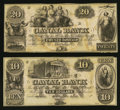 Obsoletes By State:Louisiana, New Orleans, LA- The New Orleans Canal & Banking Company $10; $20 Remainders. ... (Total: 2 notes)