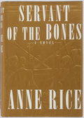 Books:Horror & Supernatural, Anne Rice. SIGNED. Servant of the Bones. Alfred A. Knopf,1996. First edition. Signed by Rice on the FFEP. Publi...
