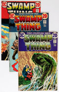 Bronze Age (1970-1979):Horror, Swamp Thing Group (DC, 1972-75) Condition: Average VG/FN....(Total: 15 Comic Books)