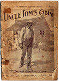 Books:Fiction, Harriet Beecher Stowe. Uncle Tom's Cabin; or, Life Among the Lowly. M. Upton Publisher, [n.d.]. Pulp edition in ...