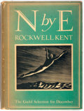Books:Travels & Voyages, Rockwell Kent. N by E. Literary Guild, 1930. First edition. Publisher's cloth and illustrated dust jacket. Signi...