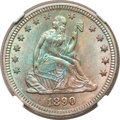 Seated Quarters, 1890 25C MS67 NGC....