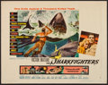 "Movie Posters:Adventure, The Sharkfighters (United Artists, 1956). Half Sheet (22"" X 28"")Style B. Adventure.. ..."