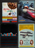 "Movie Posters:Sports, Grand Prix & Others Lot (MGM, 1967). Programs (3) (Multiple Pages, 9"" X 12"", 9.25"" X 12.5"", 9"" X 13"") & Autographed Program(... (Total: 4 Items)"