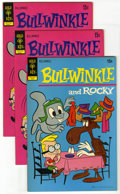 Bronze Age (1970-1979):Cartoon Character, Bullwinkle #3 and 4 Group (Gold Key, 1972) Condition: Average VF+.Includes #3 (8 copies) and #4 (2). Approximate Overstreet...(Total: 10 Comic Books)