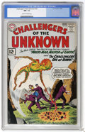 Silver Age (1956-1969):Superhero, Challengers of the Unknown #24 (DC, 1962) CGC NM- 9.2 Cream to off-white pages. The only copy graded above 8.5 by CGC to dat...