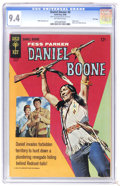 Silver Age (1956-1969):Adventure, Daniel Boone #6 File Copy (Gold Key, 1966) CGC NM 9.4 Off-white pages. Photo cover. Back cover photo pin-up. Overstreet 2006...