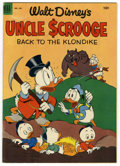 "Golden Age (1938-1955):Cartoon Character, Four Color #456 Uncle Scrooge (#2) (Dell, 1953) Condition: FN-.""Back to the Klondike"" by Carl Barks. Barks cover and art. C..."