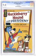 Silver Age (1956-1969):Cartoon Character, Huckleberry Hound #35 File Copy (Gold Key, 1968) CGC NM/MT 9.8 White pages. Yogi Bear appearance. Currently tied for the hig...