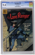 Silver Age (1956-1969):Western, The Lone Ranger #129 File Copy (Dell, 1959) CGC NM 9.4 Off-whitepages. Photo cover. Tied for the highest CGC grade to date....