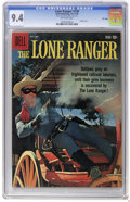 Silver Age (1956-1969):Western, The Lone Ranger #130 File Copy (Dell, 1959) CGC NM 9.4 Off-whitepages. Photo cover. This issue is currently tied for the hi...