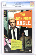 Silver Age (1956-1969):Adventure, Man from U.N.C.L.E. #18 File Copy (Gold Key, 1968) CGC NM+ 9.6 Off-white to white pages. Photo cover. Joe Certa art. Highest...