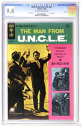 Silver Age (1956-1969):Adventure, Man from U.N.C.L.E. #20 File Copy (Gold Key, 1968) CGC NM 9.4 Off-white to white pages. Photo cover. Joe Certa art. Overstre...