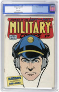 Golden Age (1938-1955):War, Military Comics #38 (Quality, 1945) CGC VF+ 8.5 Off-white pages.Only the Mile High and the Rockford copies have been graded...