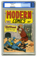 Golden Age (1938-1955):Superhero, Modern Comics #84 (Quality, 1949) CGC NM 9.4 Off-white to white pages. Reed Crandall cover art, plus interior story art by C...
