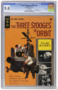 Silver Age (1956-1969):Humor, Movie Comics - Three Stooges in Orbit #nn File Copy (Gold Key, 1962) CGC NM 9.4 White pages. Photo cover. Photo pin-up back ...