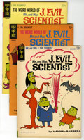 Silver Age (1956-1969):Cartoon Character, Mr. & Mrs. J. Evil Scientist Group (Gold Key, 1963-65) Condition: Average VF+. This group contains issues #1 (2 copies), #2 ... (Total: 6 Comic Books)