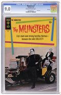 Silver Age (1956-1969):Humor, Munsters #3 File Copy (Gold Key, 1965) CGC VF/NM 9.0 Off-white to white pages. George Barris car photo cover. Photo pin-up b...