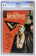 Silver Age (1956-1969):Humor, Munsters #5 File Copy (Gold Key, 1966) CGC VF+ 8.5 Off-white pages. Photo cover. Photo pin-up back cover. Overstreet 2006 VF...