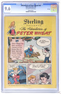 Golden Age (1938-1955):Cartoon Character, Peter Wheat #33 File Copy (Bakers Associates, 1950) CGC NM+ 9.6Off-white to white pages. Bakers Associates Giveaway. Walt K...