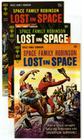 Silver Age (1956-1969):Science Fiction, Space Family Robinson Group (Gold Key, 1967-69) Condition: Average VF/NM. Issues #21 (5 copies), #28 (3), and #32 (2). Appro... (Total: 10 Comic Books)