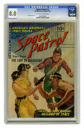 Golden Age (1938-1955):Science Fiction, Space Patrol #1 (Ziff-Davis, 1952) CGC VF 8.0 Off-white to whitepages. Though this title only had a two-issue run, it has t...
