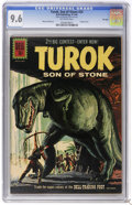 Silver Age (1956-1969):Adventure, Turok #25 File Copy (Dell, 1961) CGC NM+ 9.6 Off-white pages. Painted cover. Alberto Giolitti art. This issue is tied for th...