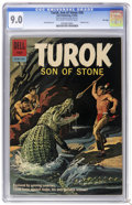 Silver Age (1956-1969):Adventure, Turok #28 File Copy (Dell, 1962) CGC VF/NM 9.0 Off-white to white pages. Painted cover. Jack Sparling art. Overstreet 2006 V...