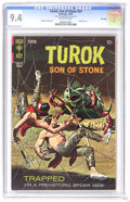 Silver Age (1956-1969):Adventure, Turok #59 File Copy (Gold Key, 1967) CGC NM 9.4 off-white pages. Painted cover. Alberto Giolitti art. Currently tied for the...