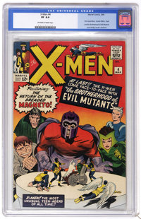 X-Men #4 (Marvel, 1964) CGC VF 8.0 Off-white to white pages. This is the first group appearance of the X-Men's opposite...
