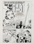 """Original Comic Art:Complete Story, Al Avison (attributed) - True Love Problems and Advice #1 Complete6-page Story """"Out of the Past"""" Original Art (Harvey, 1949)...."""