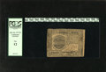 Colonial Notes:Continental Congress Issues, Continental Currency February 26, 1777 $7 PCGS Fine 12. Strongsignatures enhance this note with two small light spots....