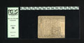 Colonial Notes:Connecticut, Connecticut June 19, 1776 1s/6d PCGS About New 50. A corner tipnick and a small corner fold are noticed through the third-p...