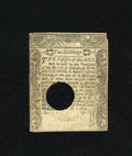 Colonial Notes:Connecticut, Connecticut June 1, 1780 10s About New, HOC. This note was oncelightly mounted....