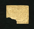 Colonial Notes:Massachusetts, Massachusetts October 16, 1778 8d Very Good. This rare note ismissing its lower left-hand corner. We average about one of t...