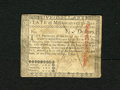 Colonial Notes:Massachusetts, Massachusetts May 5, 1780 $5 Very Fine. This note is without theusual hole cancellation as it has been pen cancelled throug...