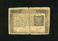 Colonial Notes:New York, New York March 5, 1776 $1/6 Fine. This note has been torned in halfand repaired with philatelic tape....